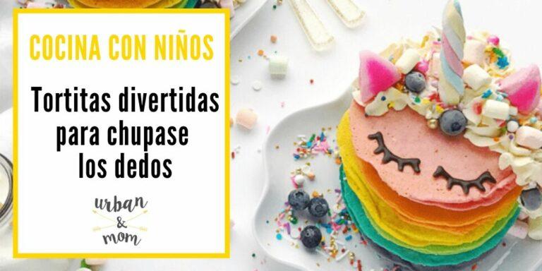 5 Formas de decorar tortitas que encantarán a tus hijos