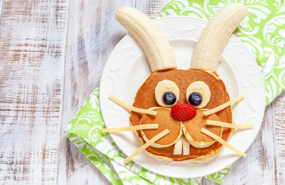 tortitas divertidas de conejo